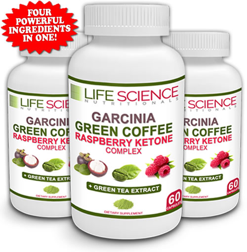 The Original 4 In 1 Garcinia Cambogia Green Coffee Bean